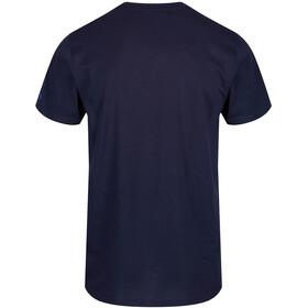 Regatta Cline III Bluzka z krótkim rękawem Mężczyźni, navy